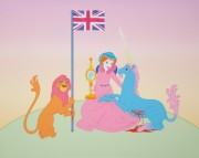 Rachel Maclean, The Lion and the Unicorn, 2012, archival pigmented digital print