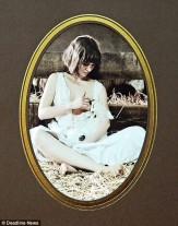 Fig.8. Samantha Sweeting, In Came the Lamb (variations), 2009. Framed photograph.