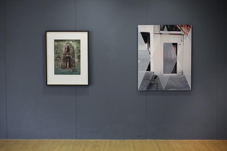 An exhibition of Leonora Carrington / Lucy Skaer curated by Catriona McAra at Leeds Art College.